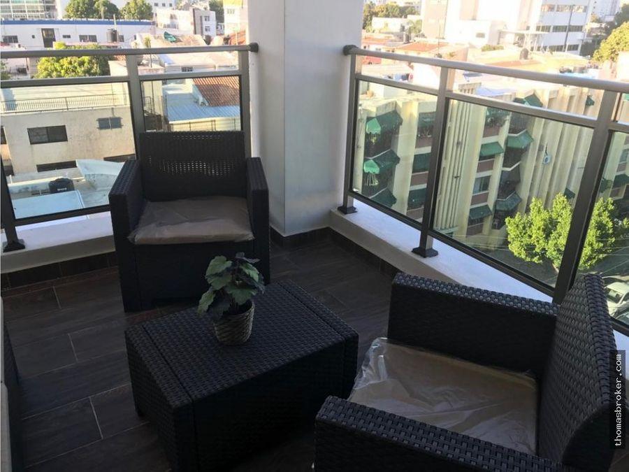 apartamento 3hab amueblado moderno bella vista