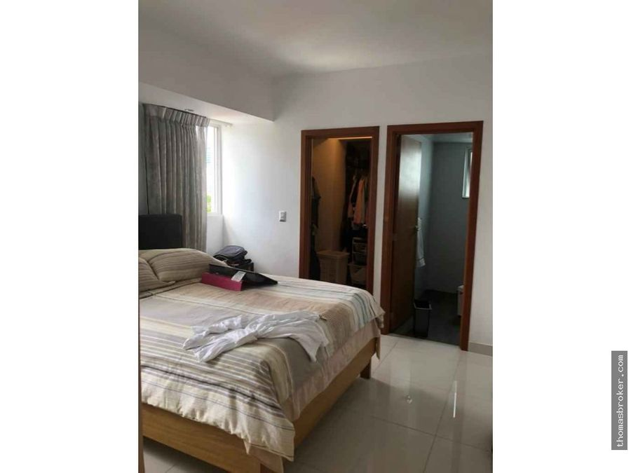 apartamento 2hab estilo penthouse en piantini