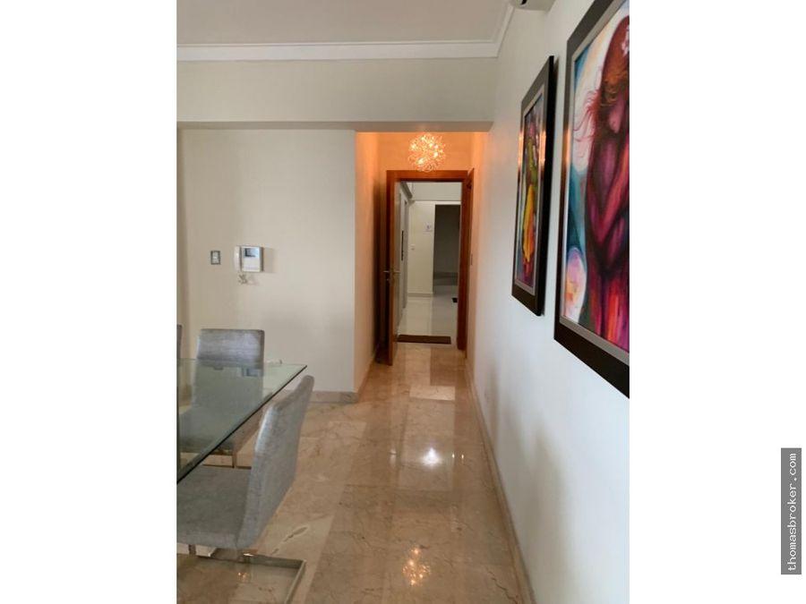 apartamento 2hab finamente amueblado naco