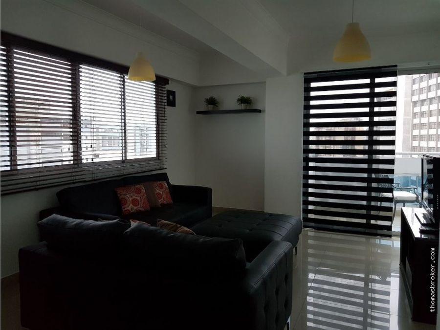apartamento 2hab amueblado cpiscina naco