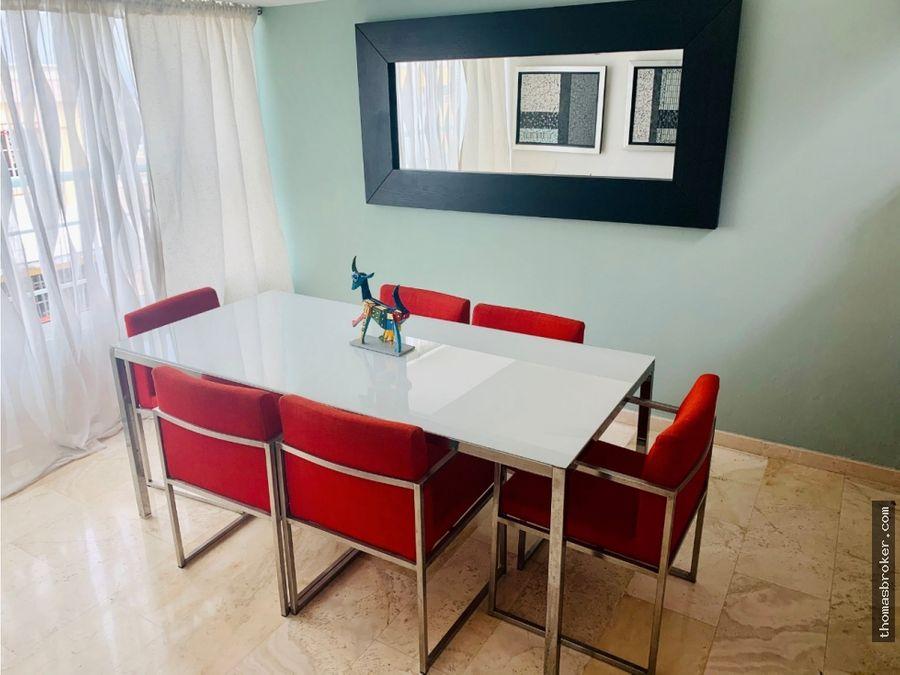 apartamento amueblado 1hab estilo penthouse