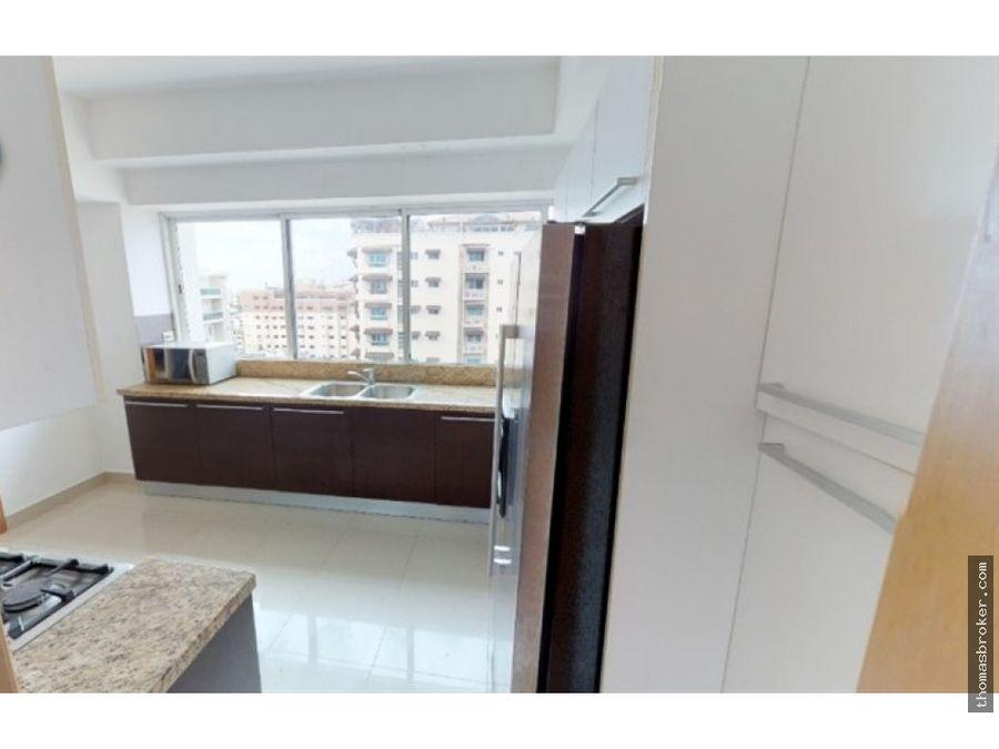 apartamento 3hab amueblado en piso alto bella vista