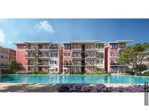 apartamentos estilo portofino 1hab bavaro