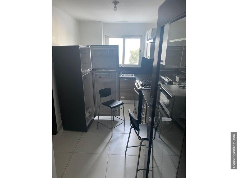apartamento 1hab amueblado moderno el vergel