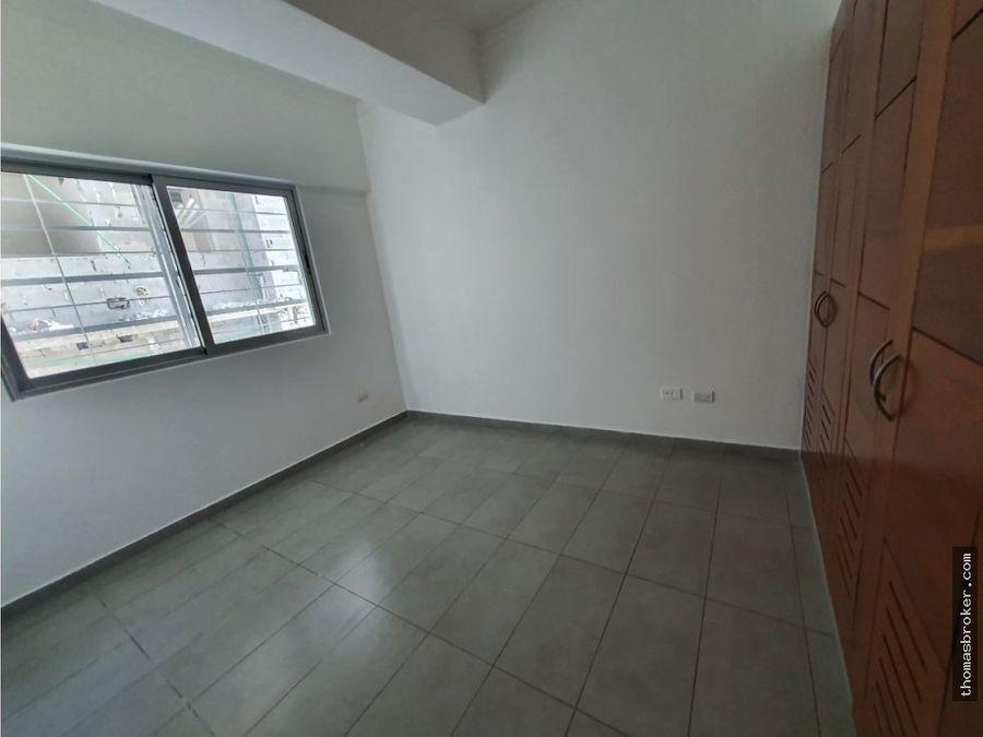 se alquila apartamento 3hab moderno naco