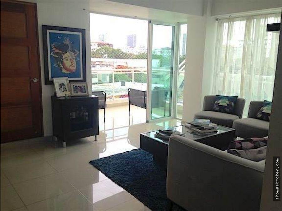 apartamento 3hab amueblado moderno evaristo