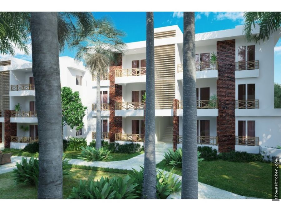apartamentos 2hab en plano las terrenas