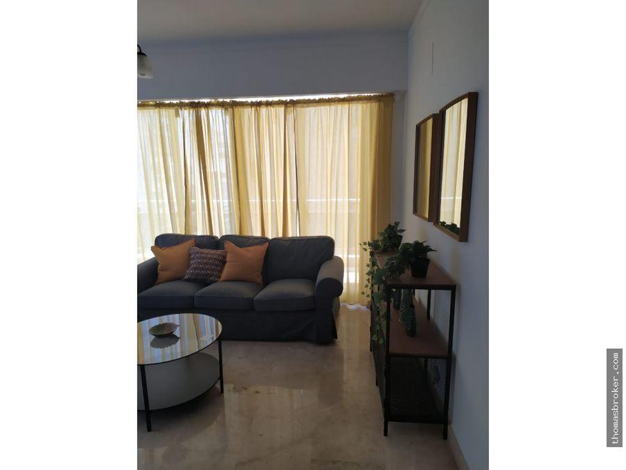 apartamento 2hab lujo amueblado naco
