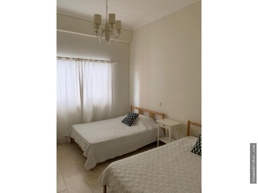apartamento 3hab amueblado cpiscina piantini