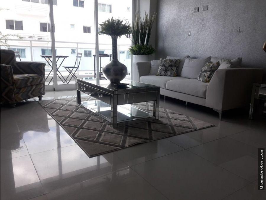 apartamento 2hab amueblado moderno bella vista