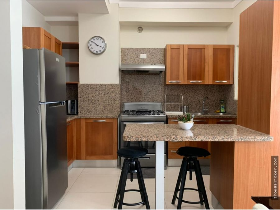 apartamento 2hab amueblado moderno la julia