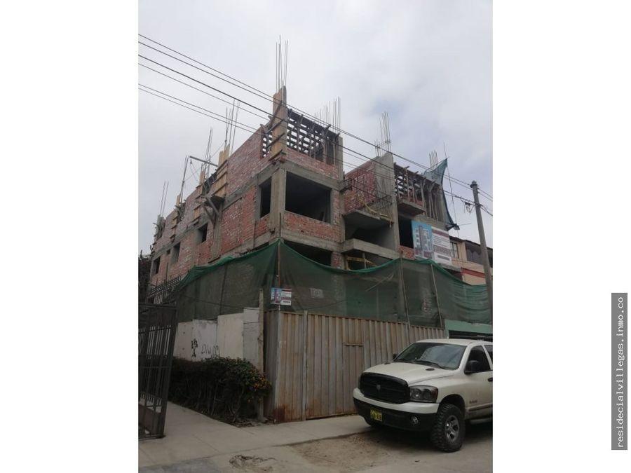 pre venta duplex departamento lima san luis