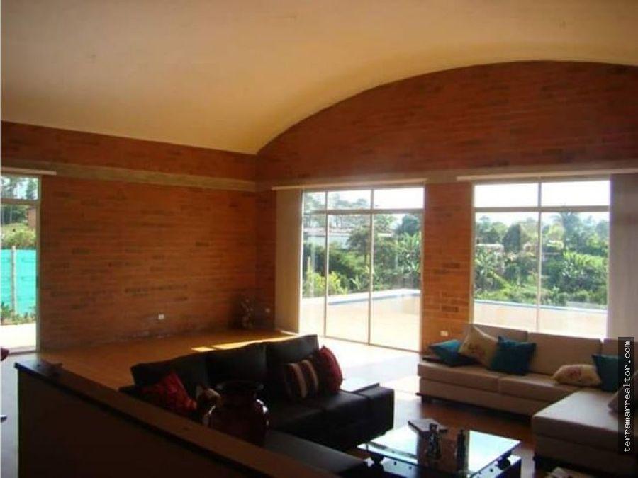 venta o permuta de casa campestre en pereira