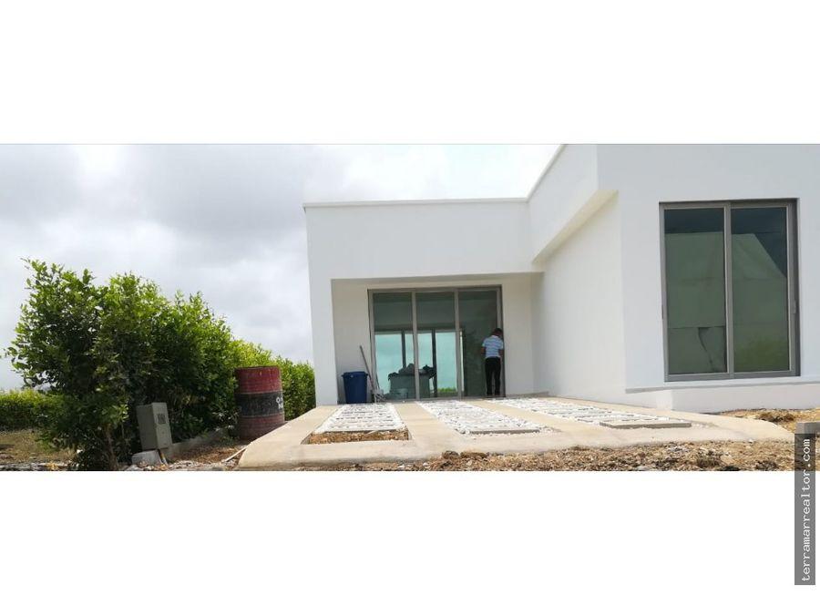 venta cabana nueva condominio en construccion
