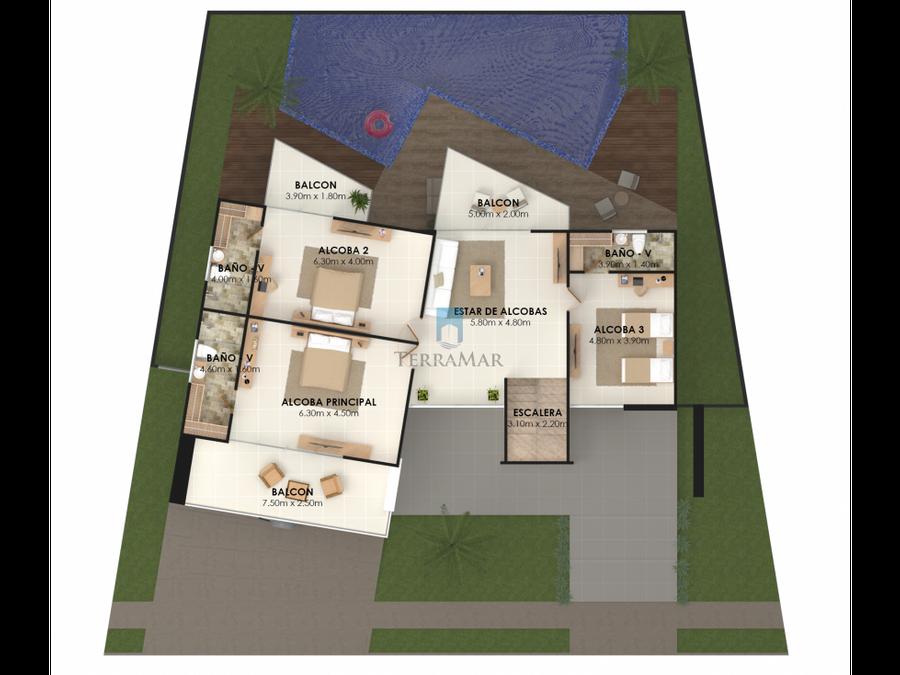 venta casa sobre planos en monteria picacho