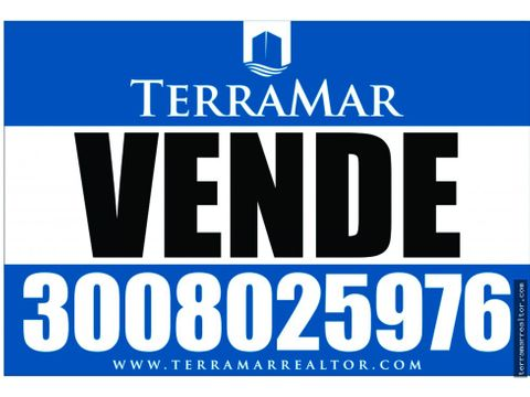 venpermuto lote frente al mar en covenas