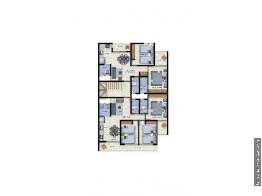 apartamentos sobre planos en los alpes en sincelejo