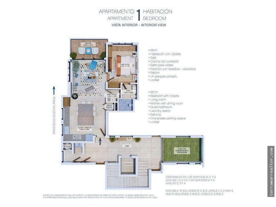 venta de apartamentos sobre planos punta cana