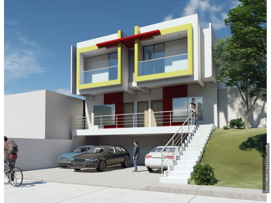 apartamentos sobre planos barrio florencia