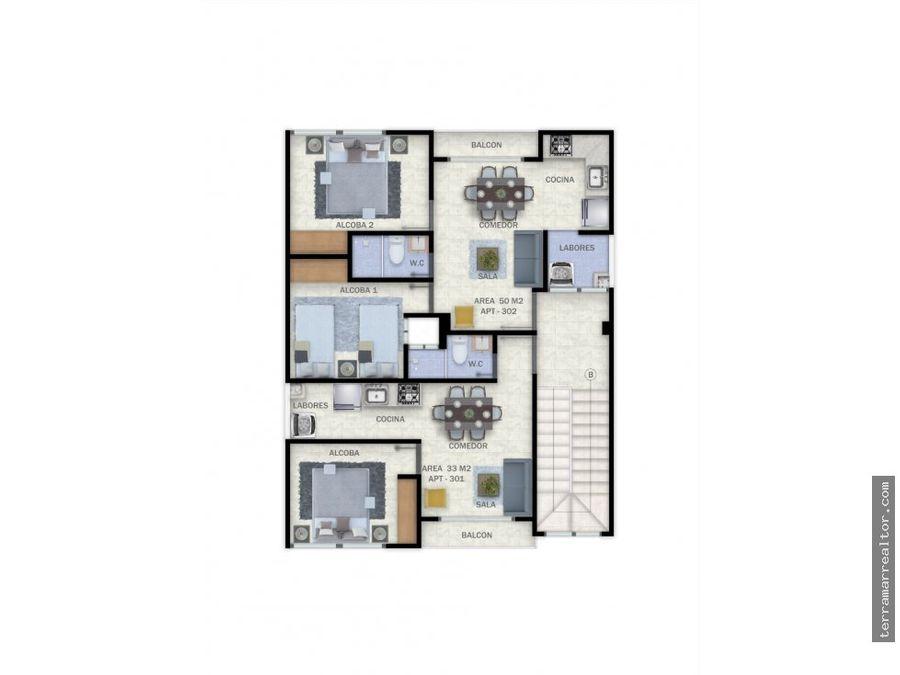 venta de apartaestudios sobre planos en sincelejo