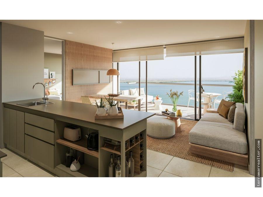 proyecto de apartamentos sobre planos cielo mar en cartagena