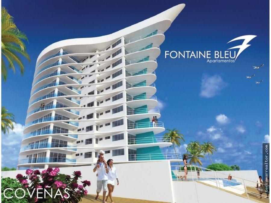 fontaine bleu ultimos apartamentos frente al mar
