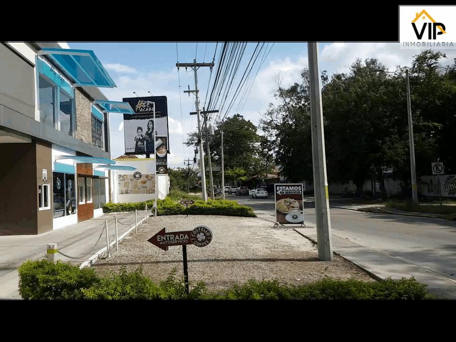 local comercial en renta san pedro sula honduras