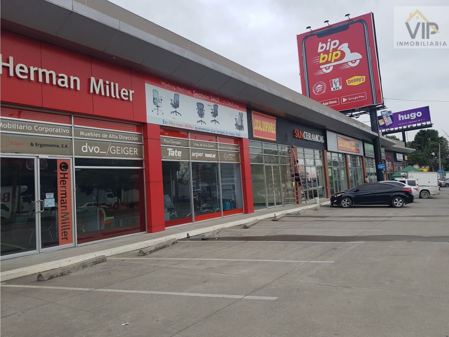 local comercial en renta avenida circunvalacion san pedro sula