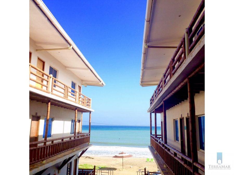 hotel en santa veronica frente a la playa