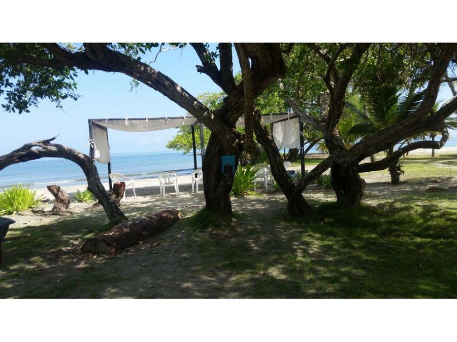 cabana en covenas frente a la playa alquiler