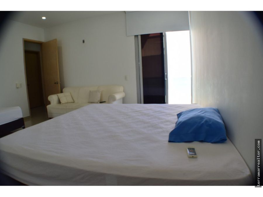 apartamento frente al mar en covenas tipo penthouse