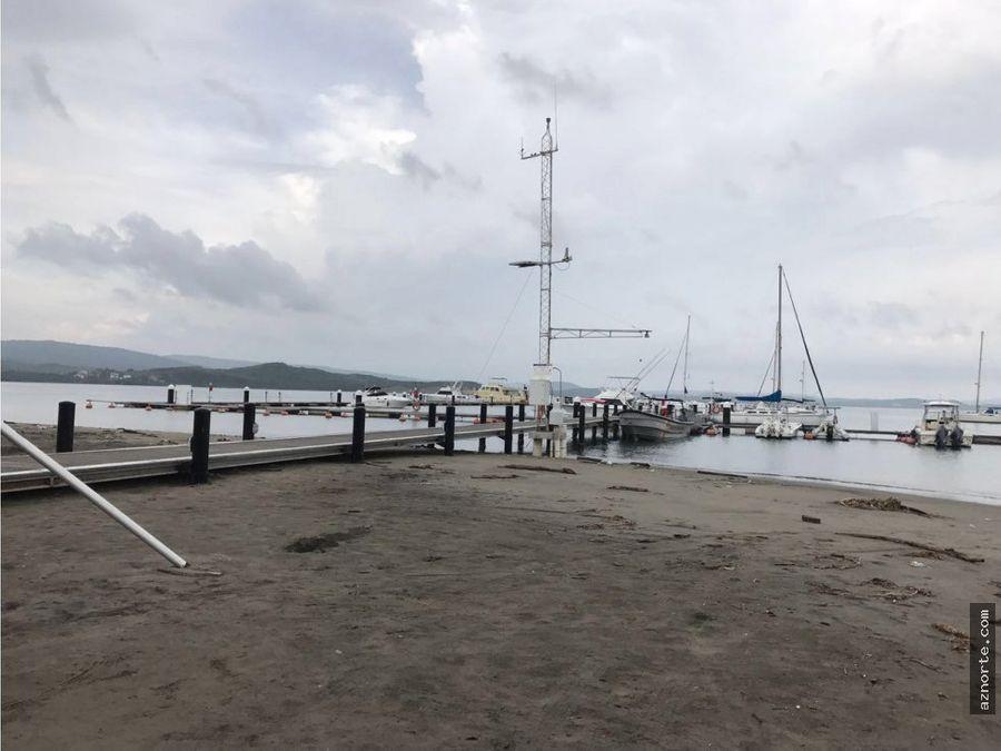 puerto velero cabana con amarre linea 1