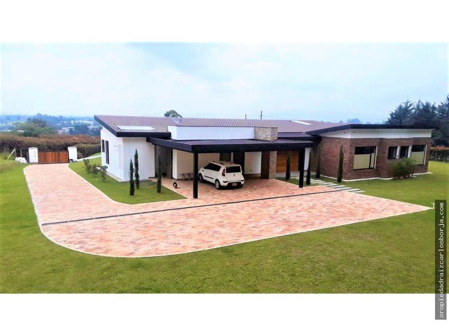 casa en venta en rionegro sajonia
