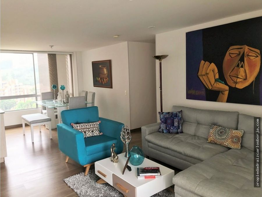 hermoso apartamento venta loma del chocho envigado