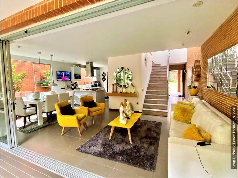 hermosa casa en venta envigado benedictinos