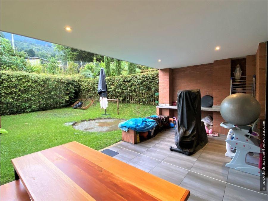 casa en venta en envigado san lucas la calleja
