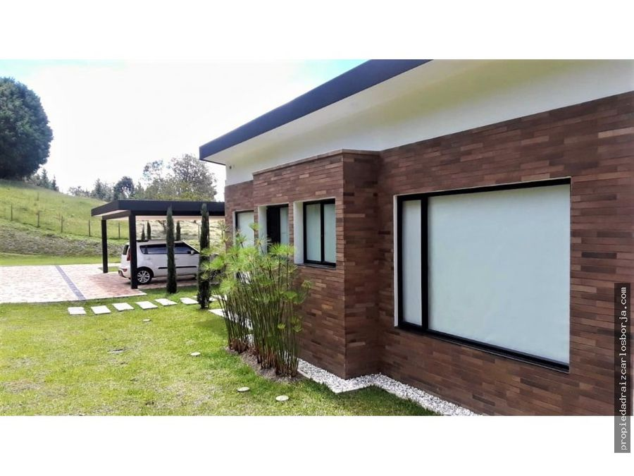 casa en venta en sajonia rionegro