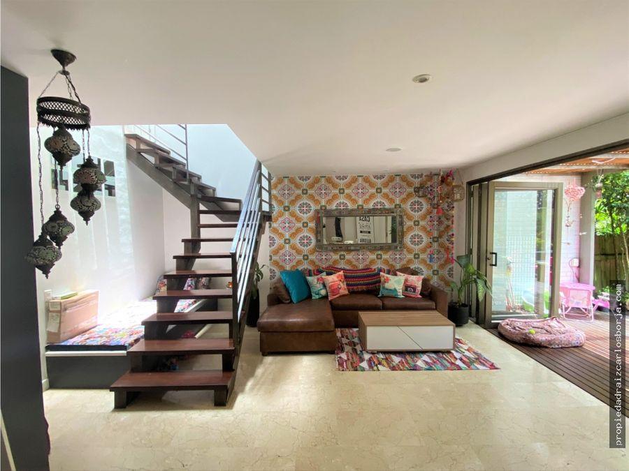 casa en venta en san lucas envigado
