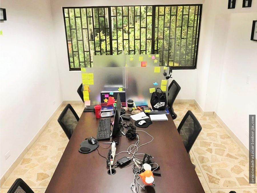 casa para oficinas empresa los balsos el poblado