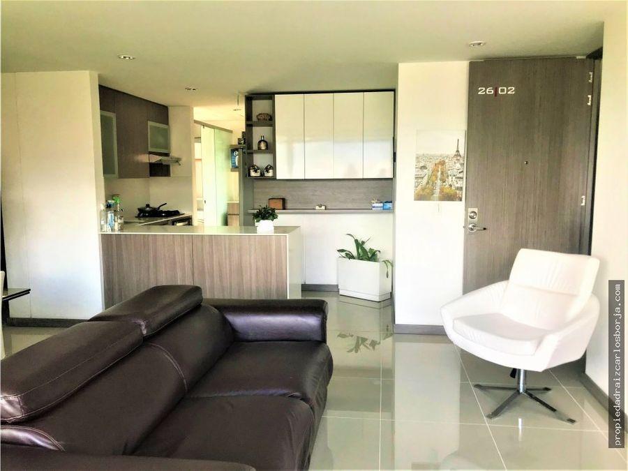 apartamento como nuevo ciudad del rio el poblado