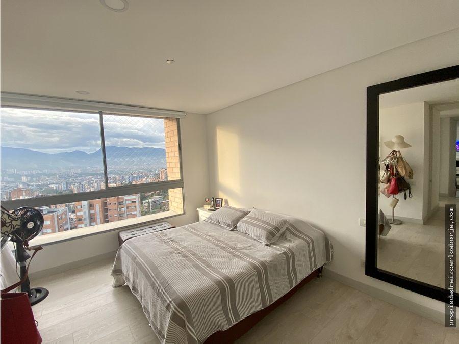apartamento con hermosa vista loma del chocho envigado