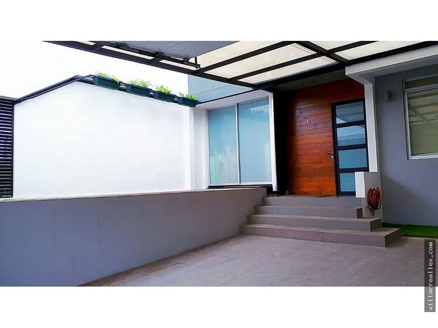 v14 hermosa casa en venta escazu