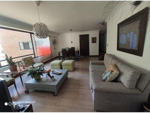 apartamento en venta el poblado sector vizcaya