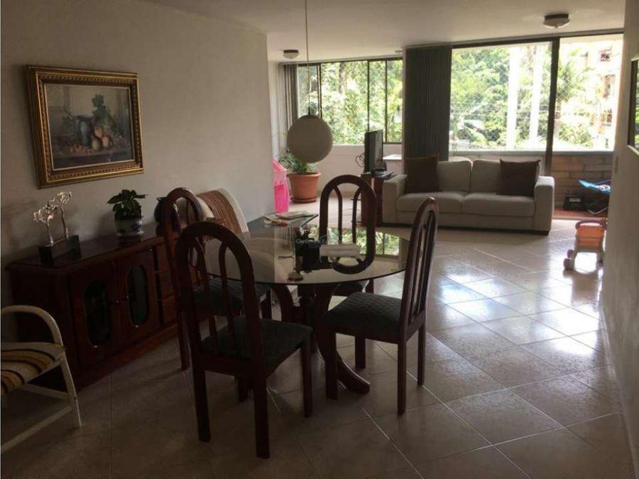 apartamento en venta el poblado sector loma de alejandria medellin