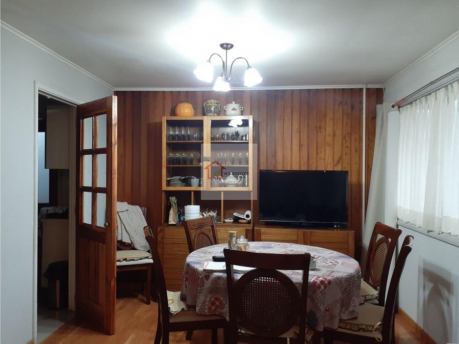 casa en venta villa portal del rey en valdivia