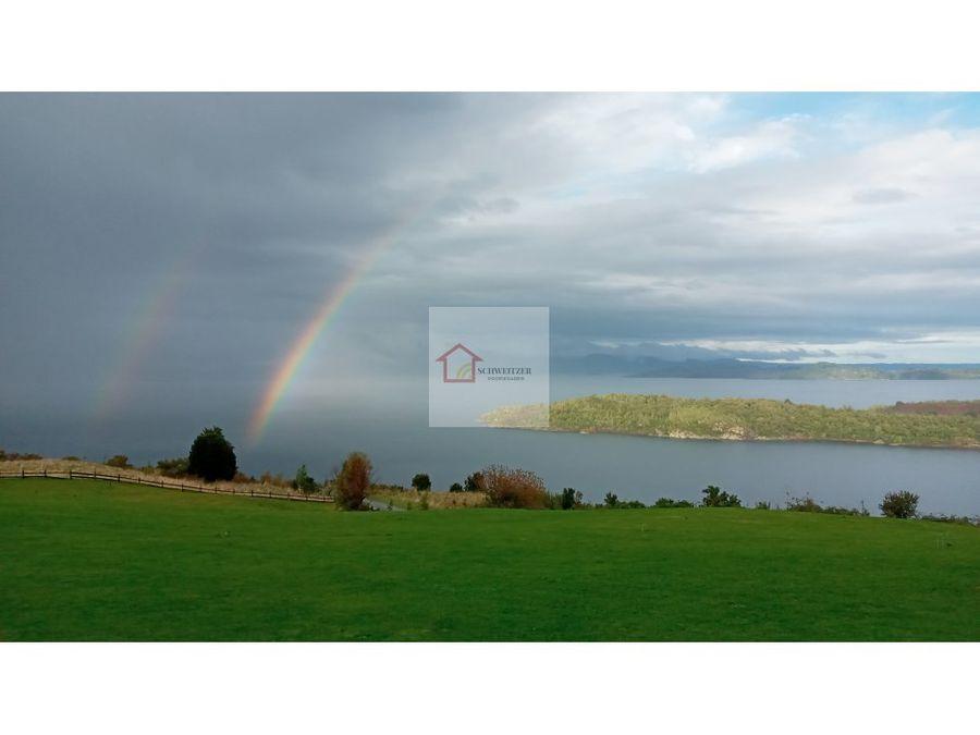 hermosos terrenos con vista al lago ranco