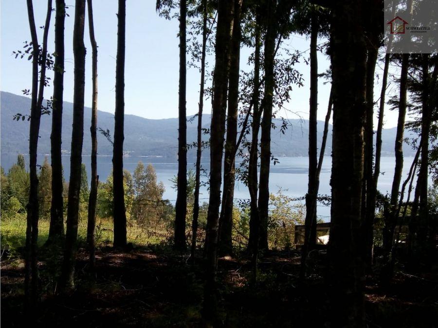 hermoso terreno con vista al lago panguipulli