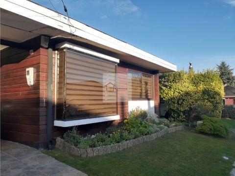 casa en venta sector regional valdivia