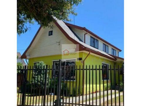 casa en venta sector regional en valdivia