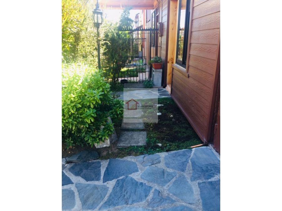 vendemos casa de dos pisos en picarte 3000 valdivia